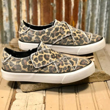 "Load image into Gallery viewer, Gypsy Jazz ""Ivette"" Leopard Easy Slip on Sneaker... LOVE IT!"