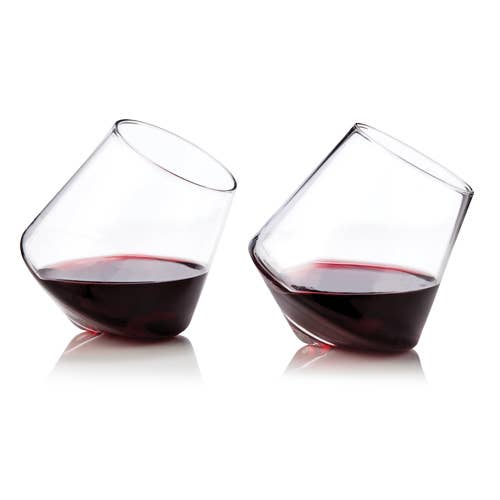 Rolling Raye Wine Glass