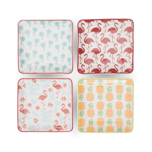 Tropical Pattern Soap Dish