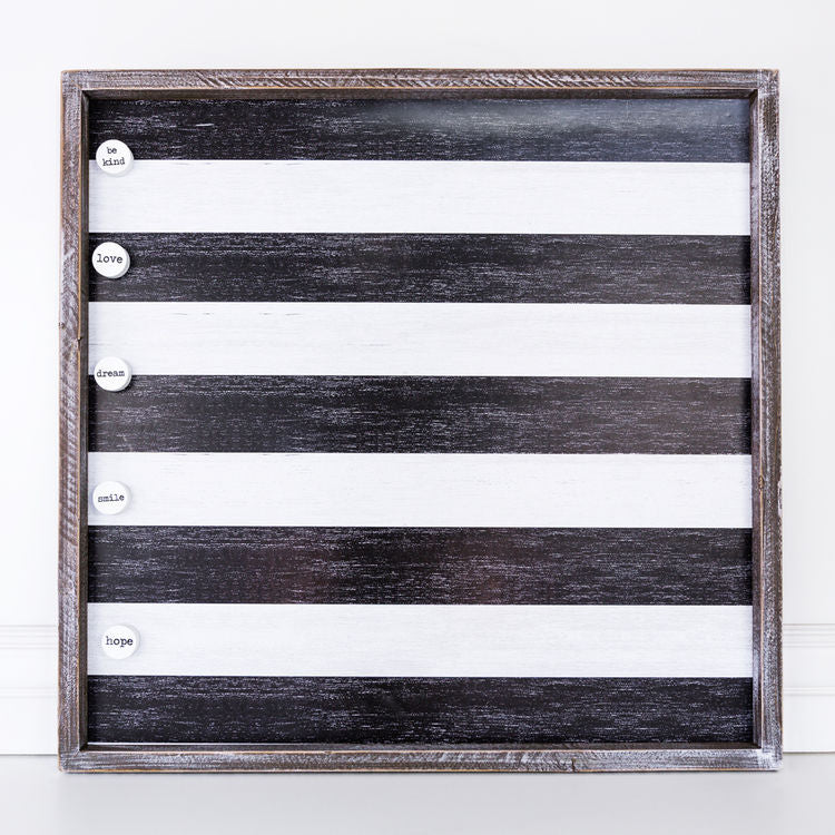 Mason Magnetic Board | Black & White