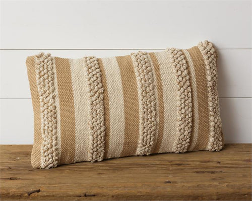 Tan Stripes | Pillow