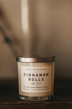Load image into Gallery viewer, Cinnamon Rolls Soy Candle | White Jar Candle