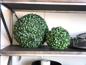 Artificial Boxwood Ball| Large