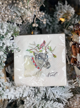 Load image into Gallery viewer, Holiday Beverage Napkins