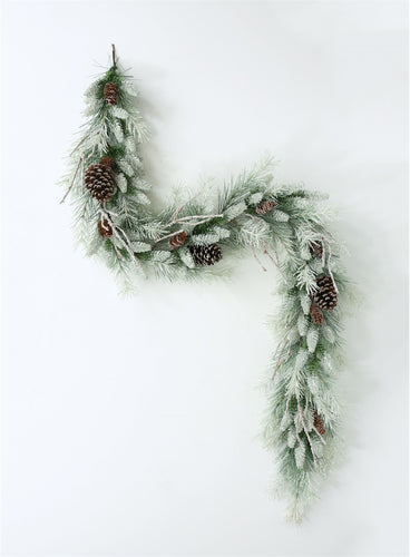 Frosted Mix Pine Garland