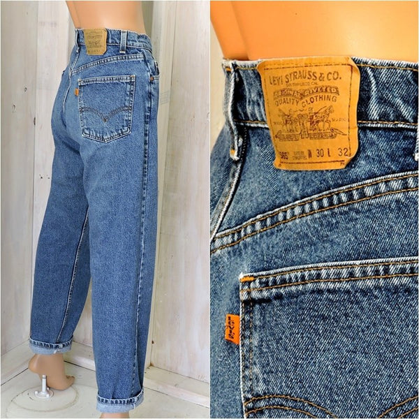 e4eeedac Vintage 70s 80s Levis 560 jeans 30 X 32 womens size 7 / 8
