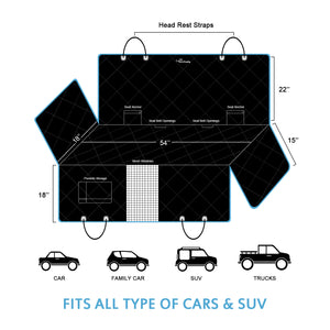 Pet Seat Cover for Cars, Trucks and SUVs