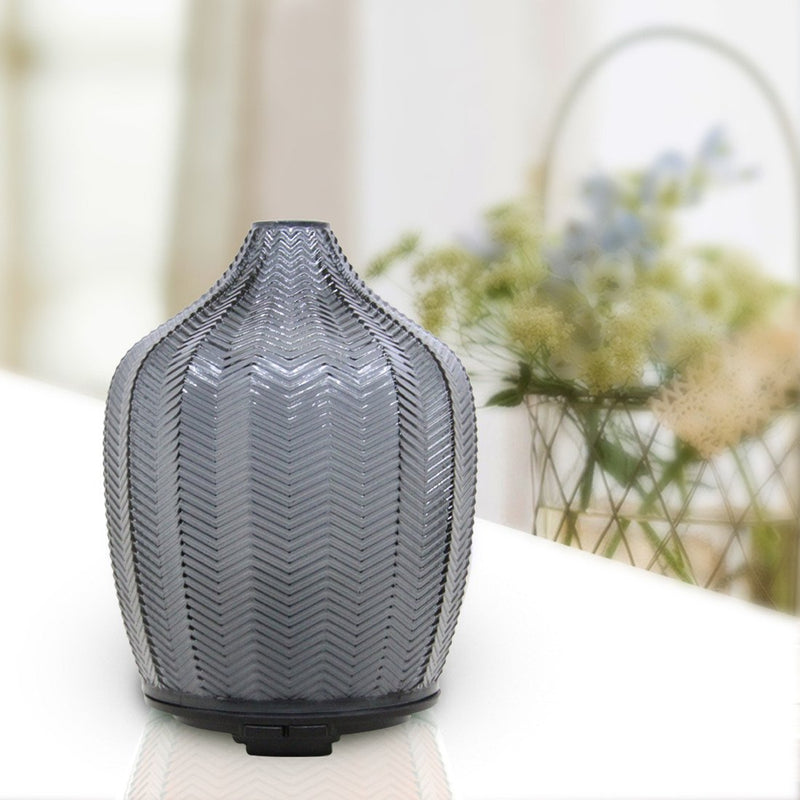 Grey Color Glass Aroma Diffusers