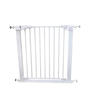 Auto Close High Quality Metal Retractable Pet Gate (31 Inches Tall)