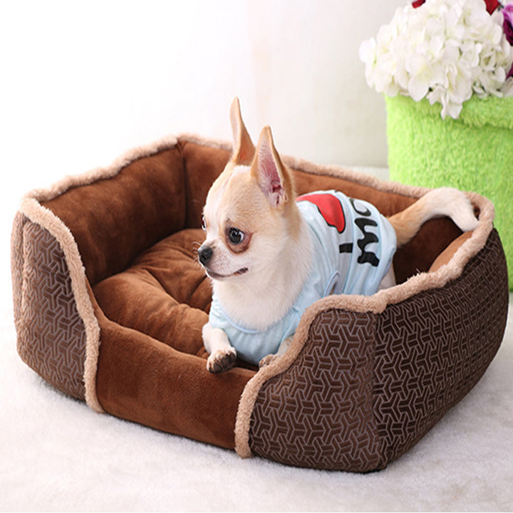Comfortable Soft Touch 26'' Dog Bed