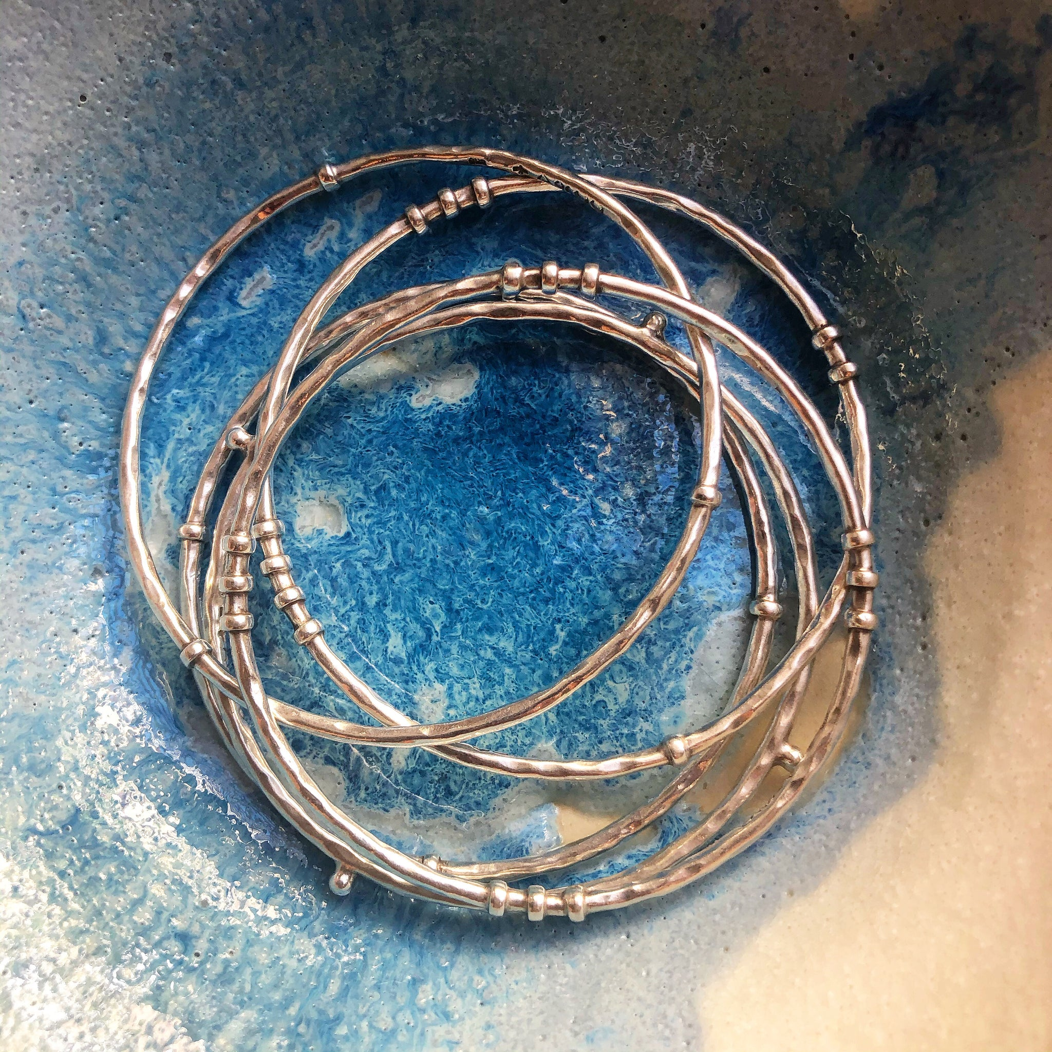 'True North Oracle' Compass Bangle