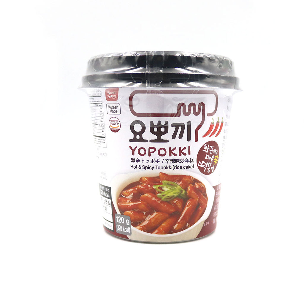 YoPpoKki Hot & Spicy (120g)