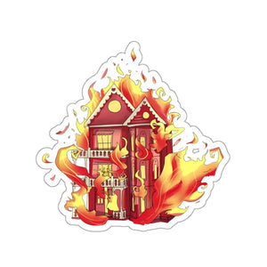 Paper House Full Color Kiss-Cut Stickers