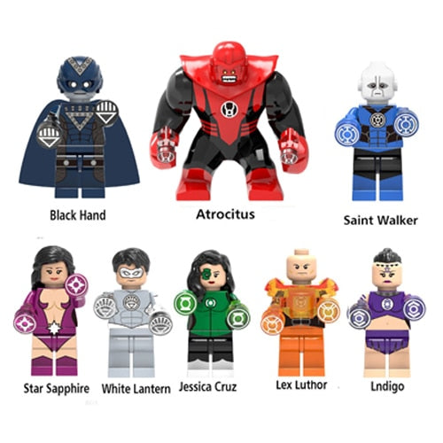 Super Heroes Building Block Avengers Model Sets Bricks Compatible with LegoINGly Batman Spiderman Hulk Action Figures Kids Toys