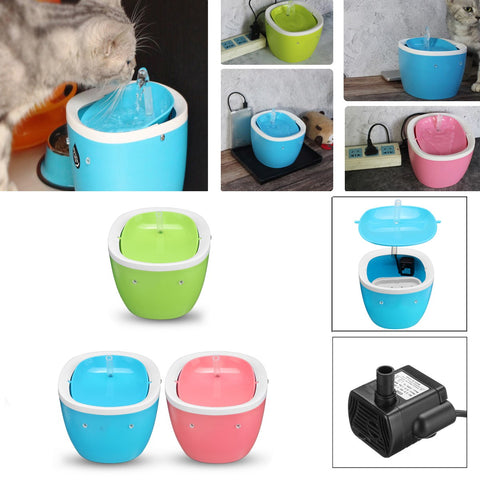 Automatic Cat Dog Drinking Fountain Electric Pet Water Dispenser Feeder Bottle with Filter Drinking Bowl Pet Supplies