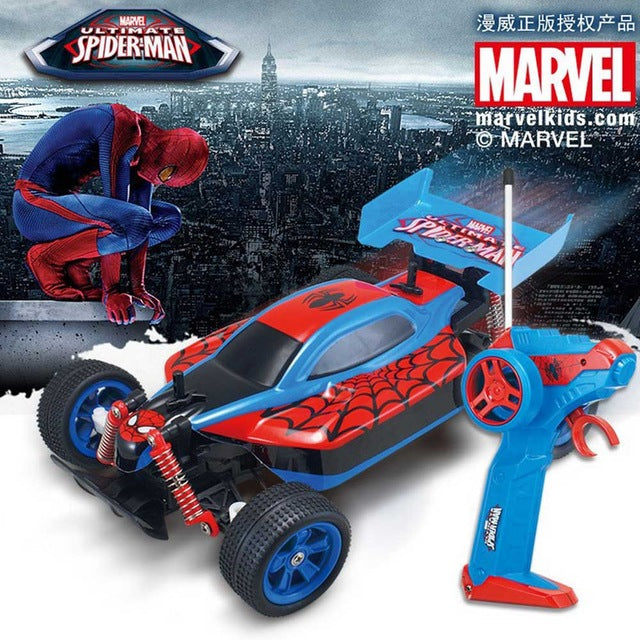 Electric Superhero Spiderman Robot Car 1:16 RC Cars 2.4G 20KM/H High Speed Racing Car Remote Control Robot Car Toys for Gifts