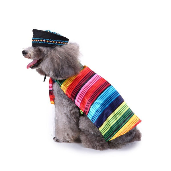 Dog supplies pet Christmas clothes creative Halloween Christmas pet clothes funny dog clothes