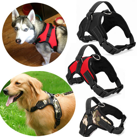 Nylon Dog Harness 4 Colors S/M/L/XL Adjustable Puppy Large Dog Harness for Dogs Animals Pet Walking Hand Strap Dog Supplies