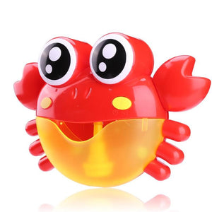Baby Bath Toys Kids Bubble Crabs Funny Music Bath Bubble Maker Pool Swimming Bathtub Soap Machine Toys for Children Kids
