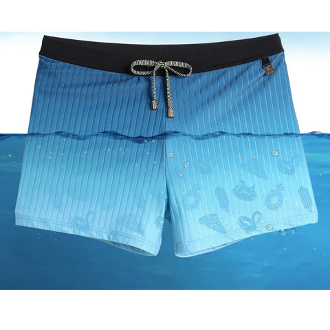 Men's summer bathing suit wear pool shorts  breathable bathing suit sexy briefs bikini