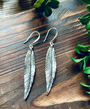 Birds of a Feather Earrings- Available in gold & silver