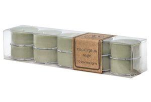 Soy Tea Lights - Pack of 10