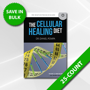 Cellular Healing Diet Book 25 Count
