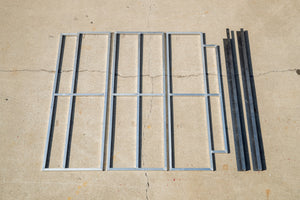 144 Sprinter Van Three-Panel Platform Kit