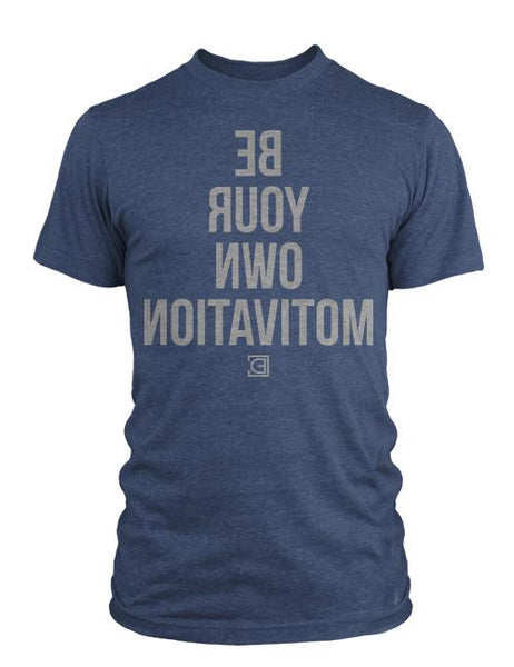Compete Every Day Self Motivated Men's T-Shirt - Navy