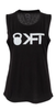 KFT Muscle Tank - Black with Grey