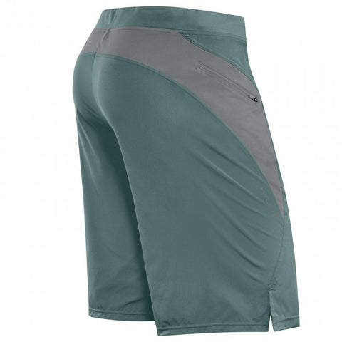 Hylete Verge II Flex-Woven Zip Pocket Short - Trellis