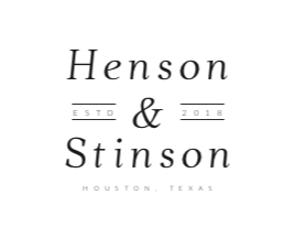 Henson & Stinson - With Dates