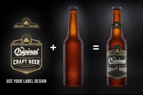 Beer Bottle Product Design