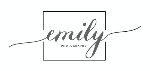 Emily Photography - Custom Made Logo's