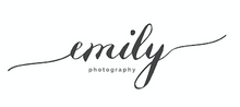 Load image into Gallery viewer, Emily Photography - Custom Made Logo's
