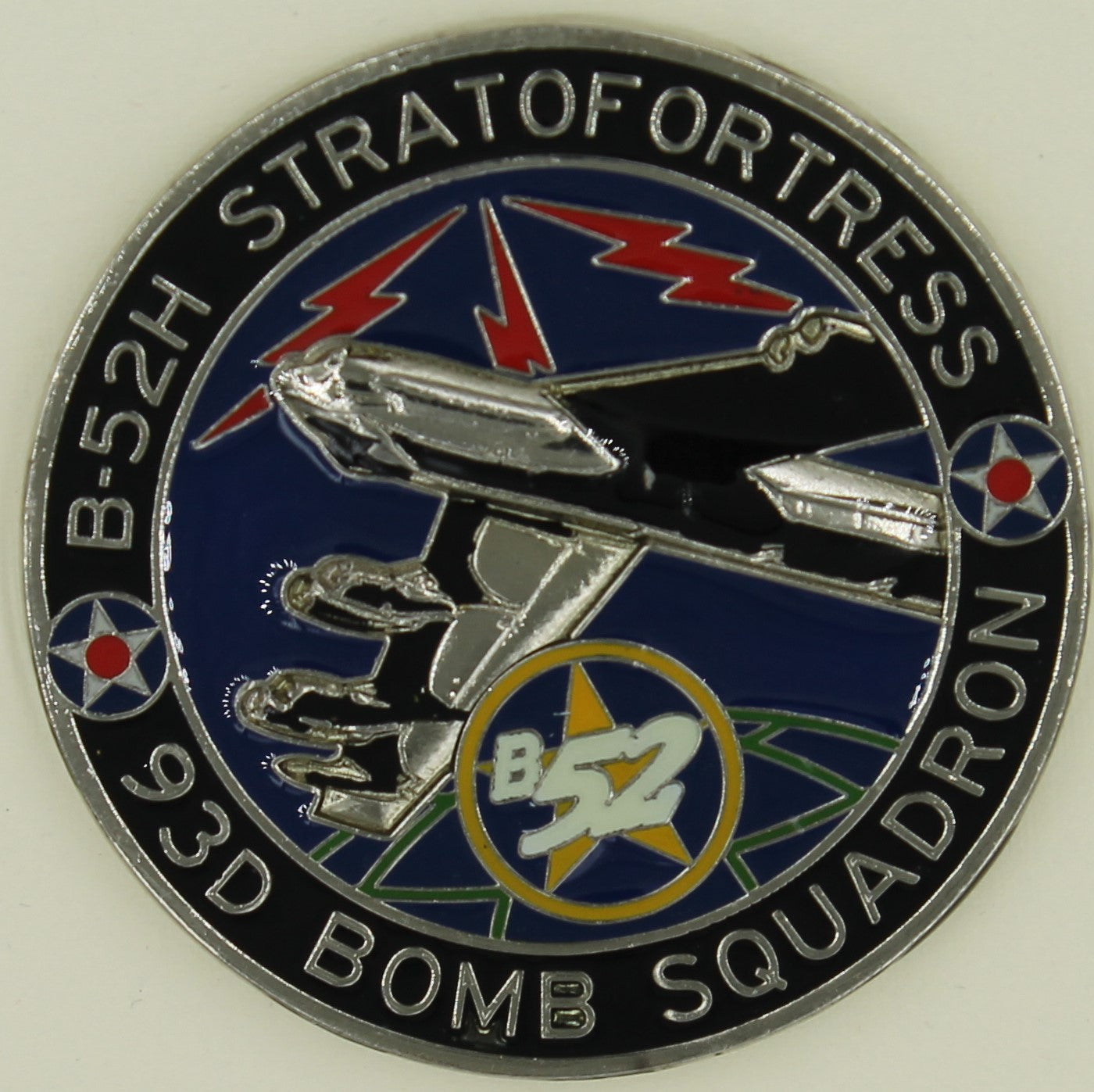 93rd Bomb Squadron B-52 Bomber BUFF Air Force Challenge Coin – Rolyat  Military Collectibles