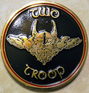 SEAL Team 8, 2 Troop Odin Navy Challenge Coin – Rolyat Military