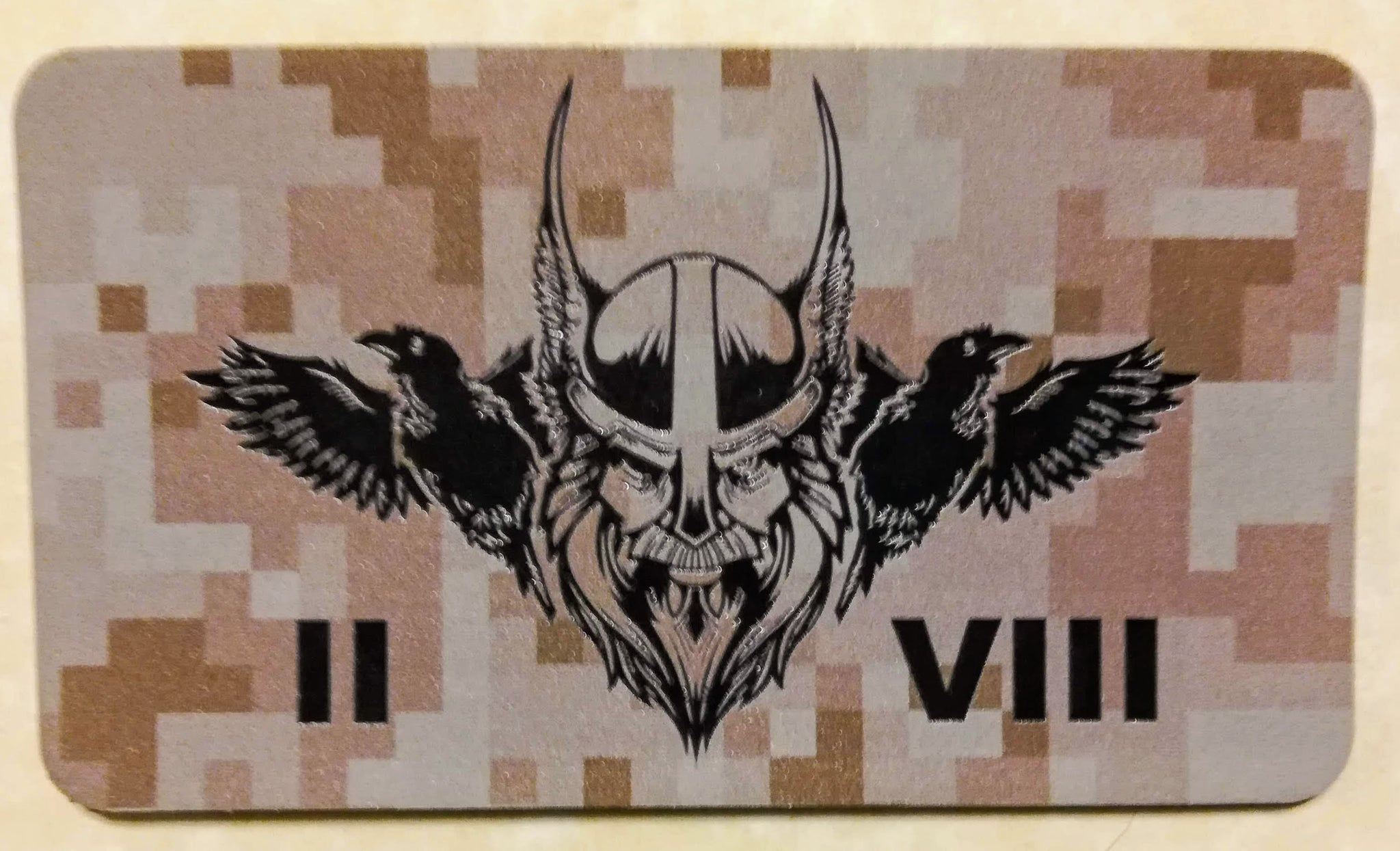 SEAL Team Eight/8, 2 Troop Odin Desert Infrared Patch