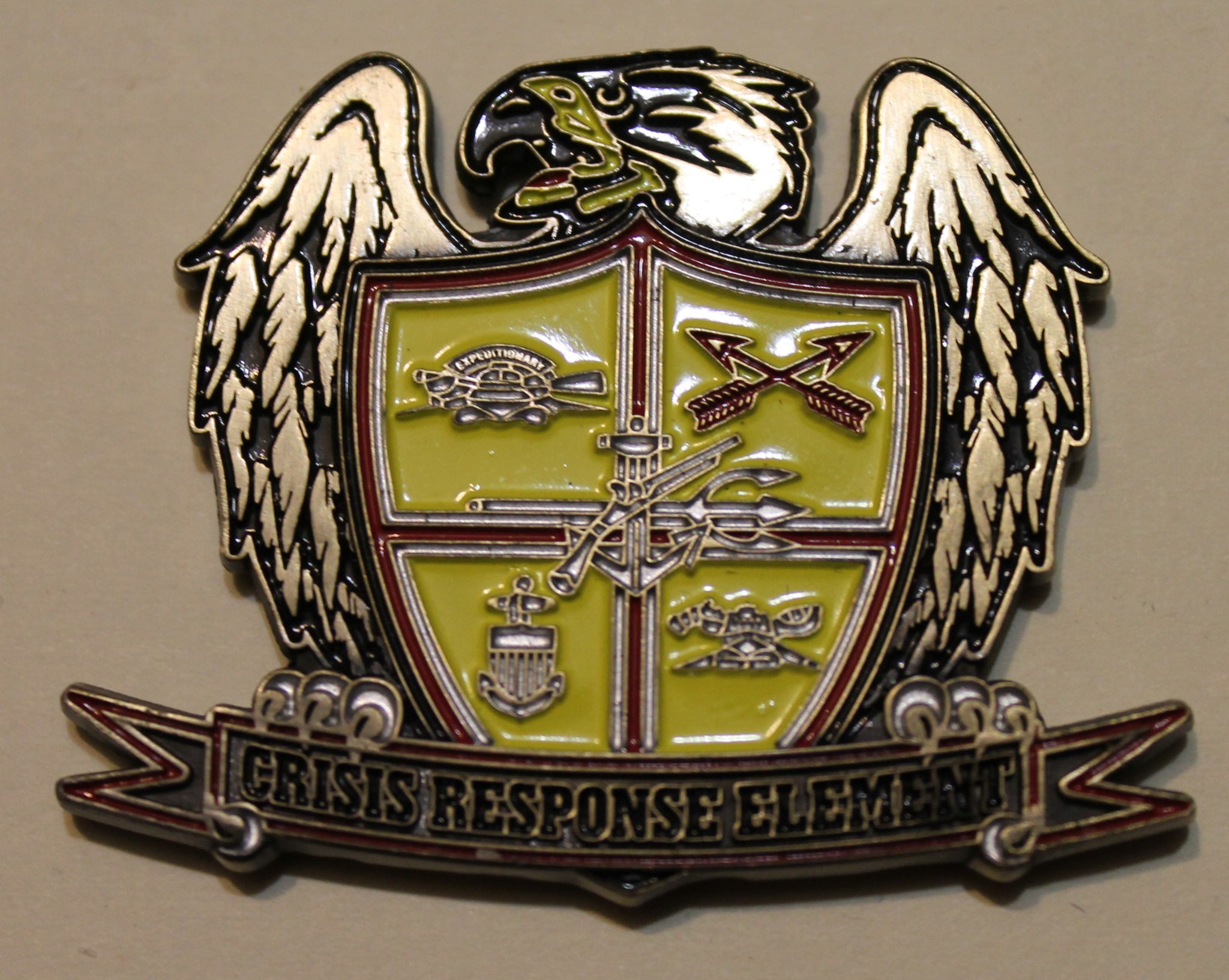 Presidential Special Guard Crisis Response Element SEAL Team 1/ One ST1  Navy Challenge Coin