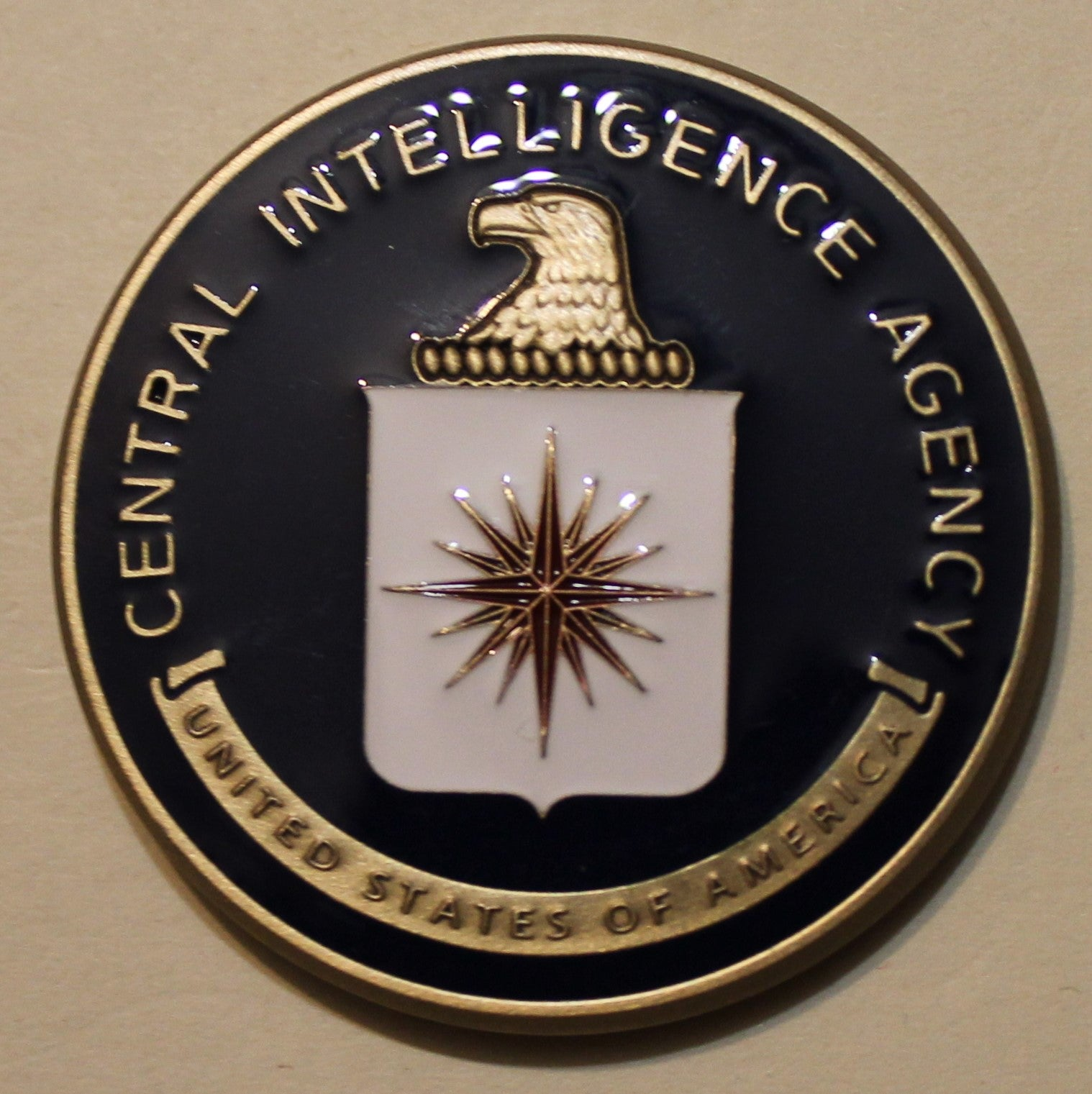 Central Intelligence Agency CIA Washington, DC Challenge Coin