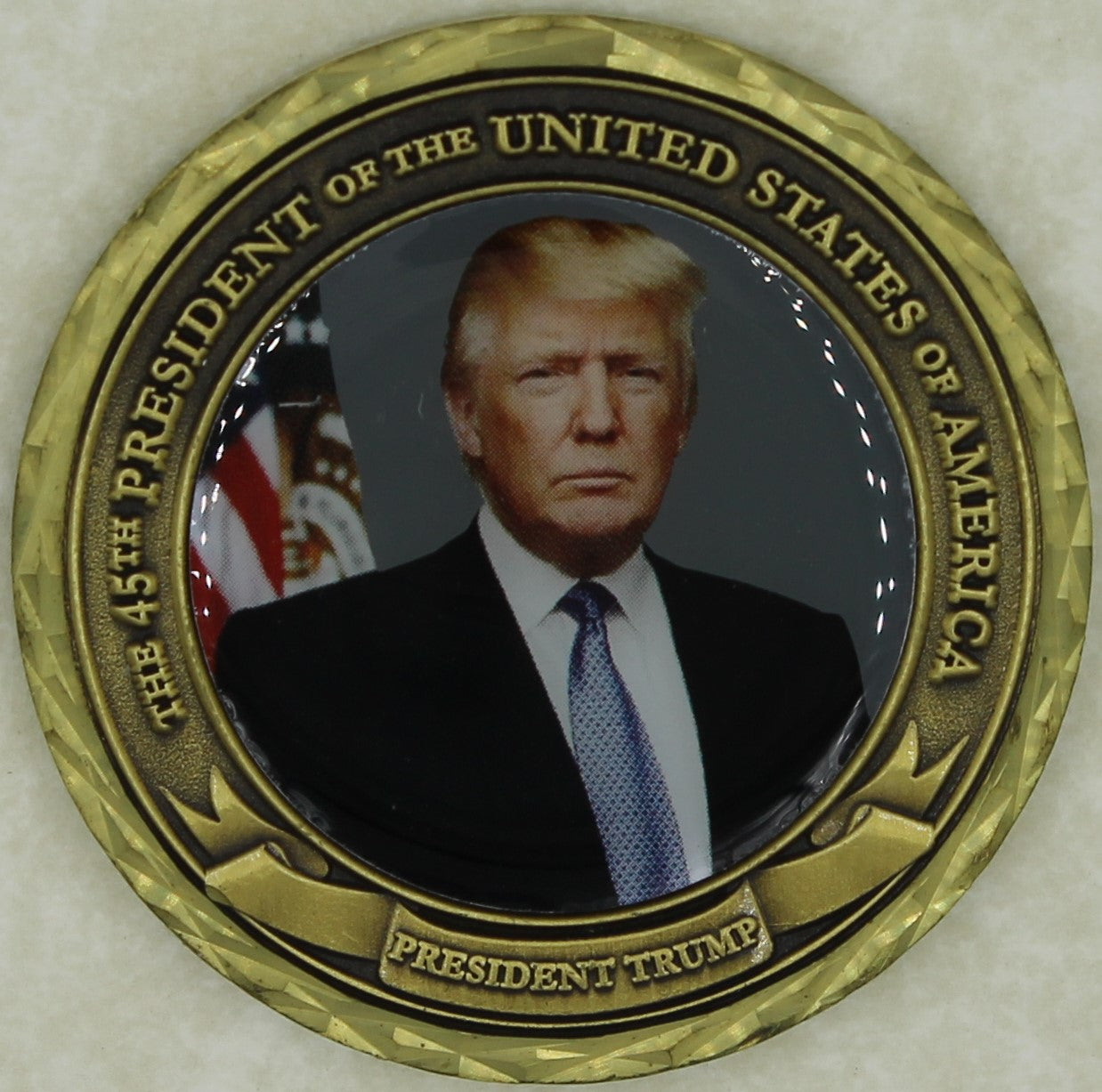 Presidential Inauguration Jan 20, 2017 Donald Trump Challenge Coin