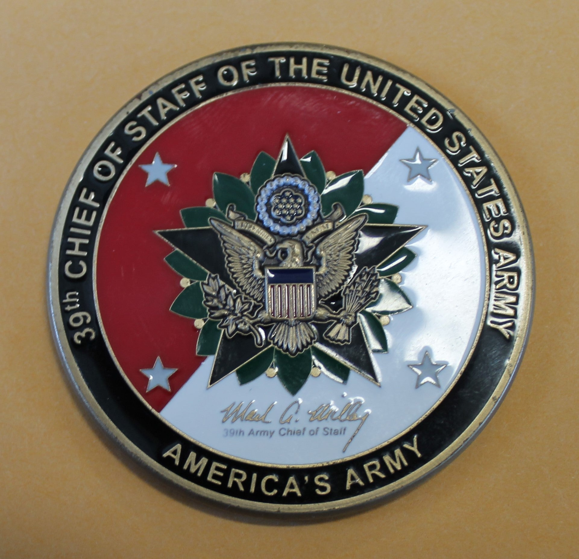 chief of staff coin