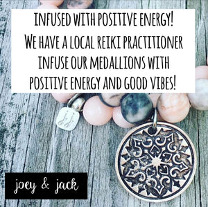 Joey & Jack Reiki Infused Positive Energy Necklace Large