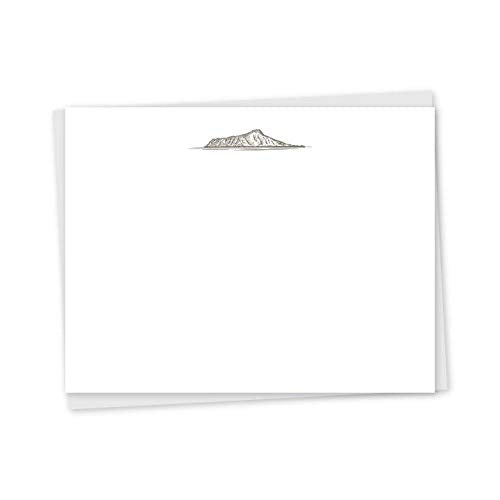 Diamond Head Note Cards - 6 Pack