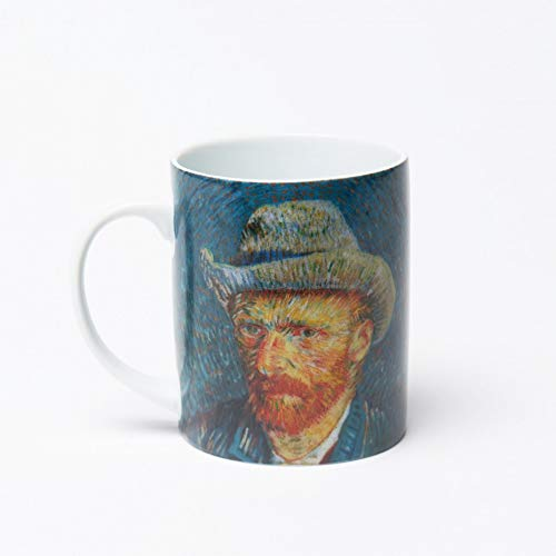 Vincent Van Gogh Mug - Self-Portrait with Grey Felt Hat