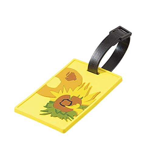 Luggage Bag tag Vincent Van Gogh Sunflowers