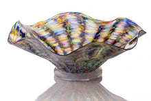Load image into Gallery viewer, Handblown Glass Flutter Bowl