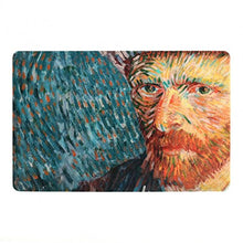Load image into Gallery viewer, Van Gogh Placemat Self-Portrait with Grey Felt Hat 4 Pack