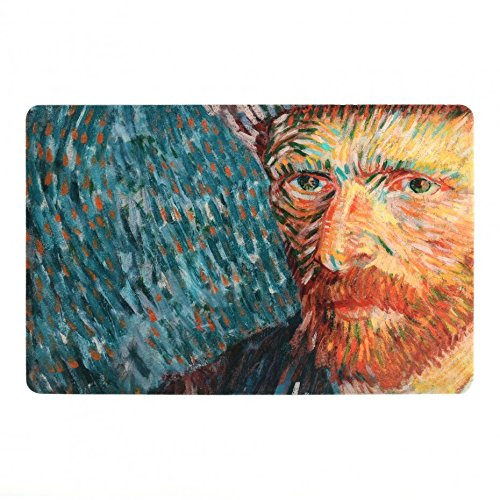 Van Gogh Placemat Self-Portrait with Grey Felt Hat 4 Pack