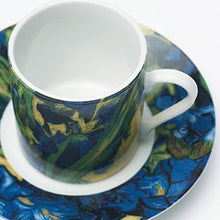 Load image into Gallery viewer, Vincent Van Gogh Espresso set Ireses (2 pack)